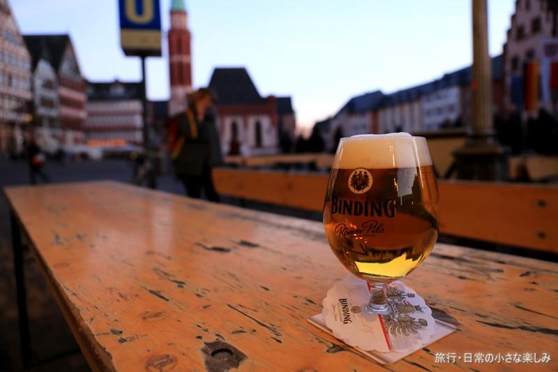 フランクフルト ビール レーマ広場