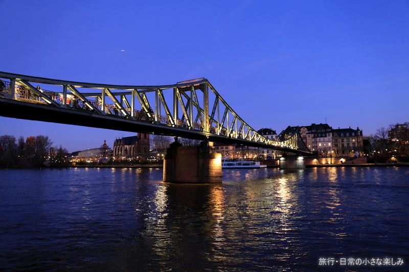 フランクフルト 鉄の橋