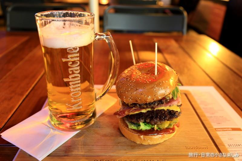 フランクフルト ハンバーガー