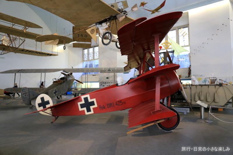 ミュンヘン・ドイツ博物館 飛行機