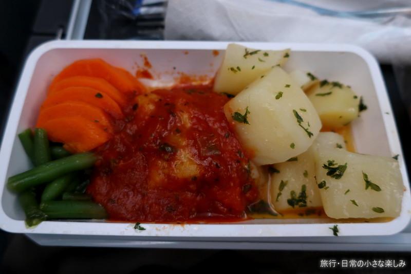 SQ622 機内食 B787-10 機内食