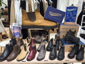Blundstone POP UP はじまりました!
