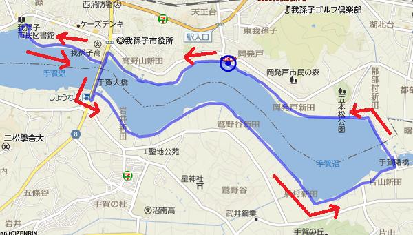 20010101お散歩コース