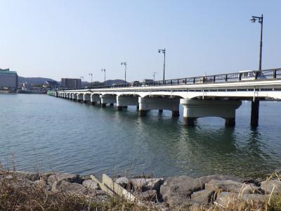 上空 虹の松原線(松浦橋)