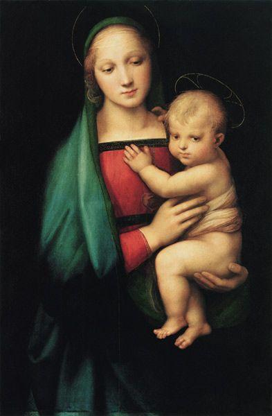 聖母子ラファエロ1