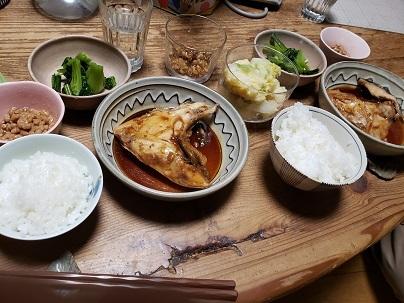 二人の夕食ー1