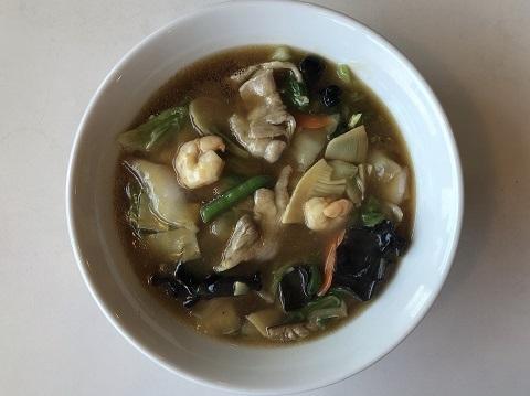 具沢山広東麺