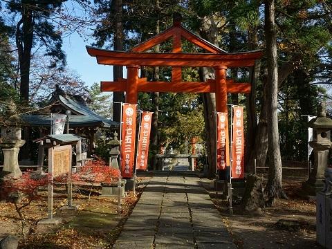 16日吉神社境内
