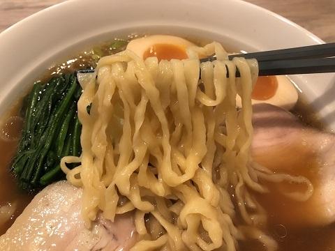 味玉醤油麺