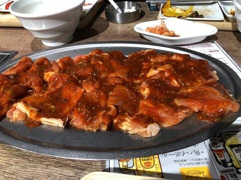 鶏焼肉料理2
