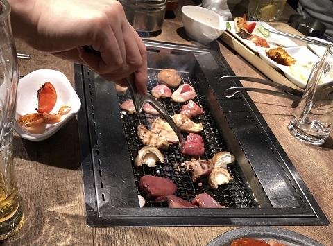 鶏焼肉料理3