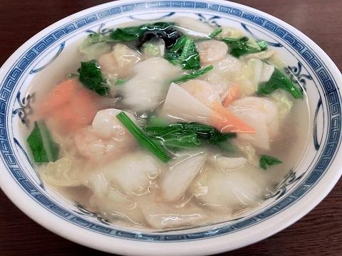 蝦仁湯麺2