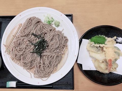 てんぷら蕎麦1