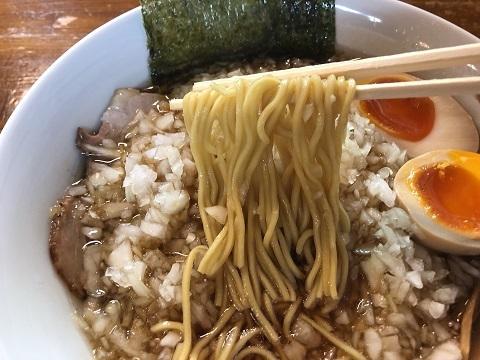 薬味ラーメン麺