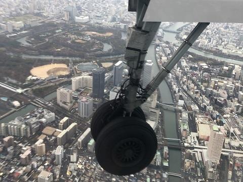 4大阪城上空