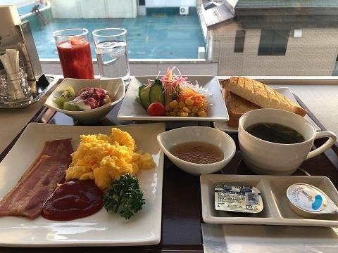 グランヒル朝食1