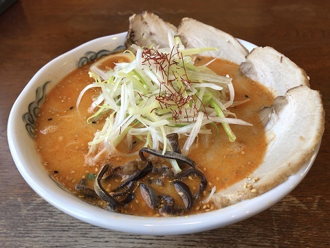 白神ねぎ担々麺シャーシュー2