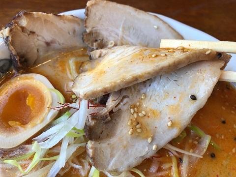 白神ねぎ担々麺シャーシュー6
