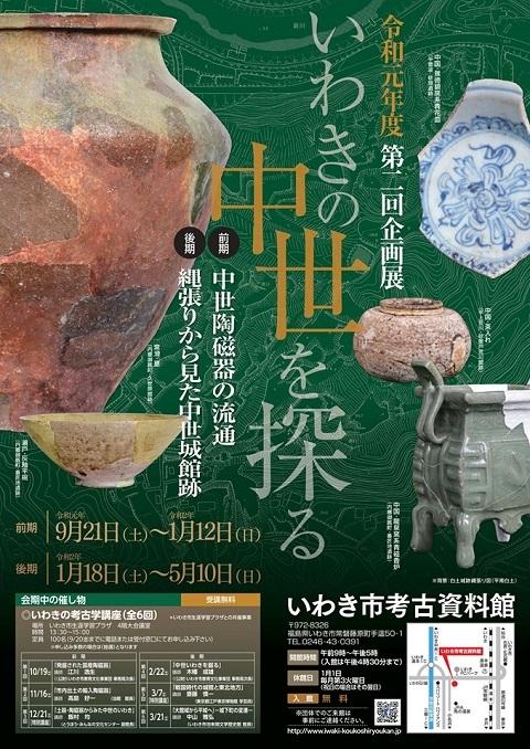 いわき市考古資料館企画展2019前期