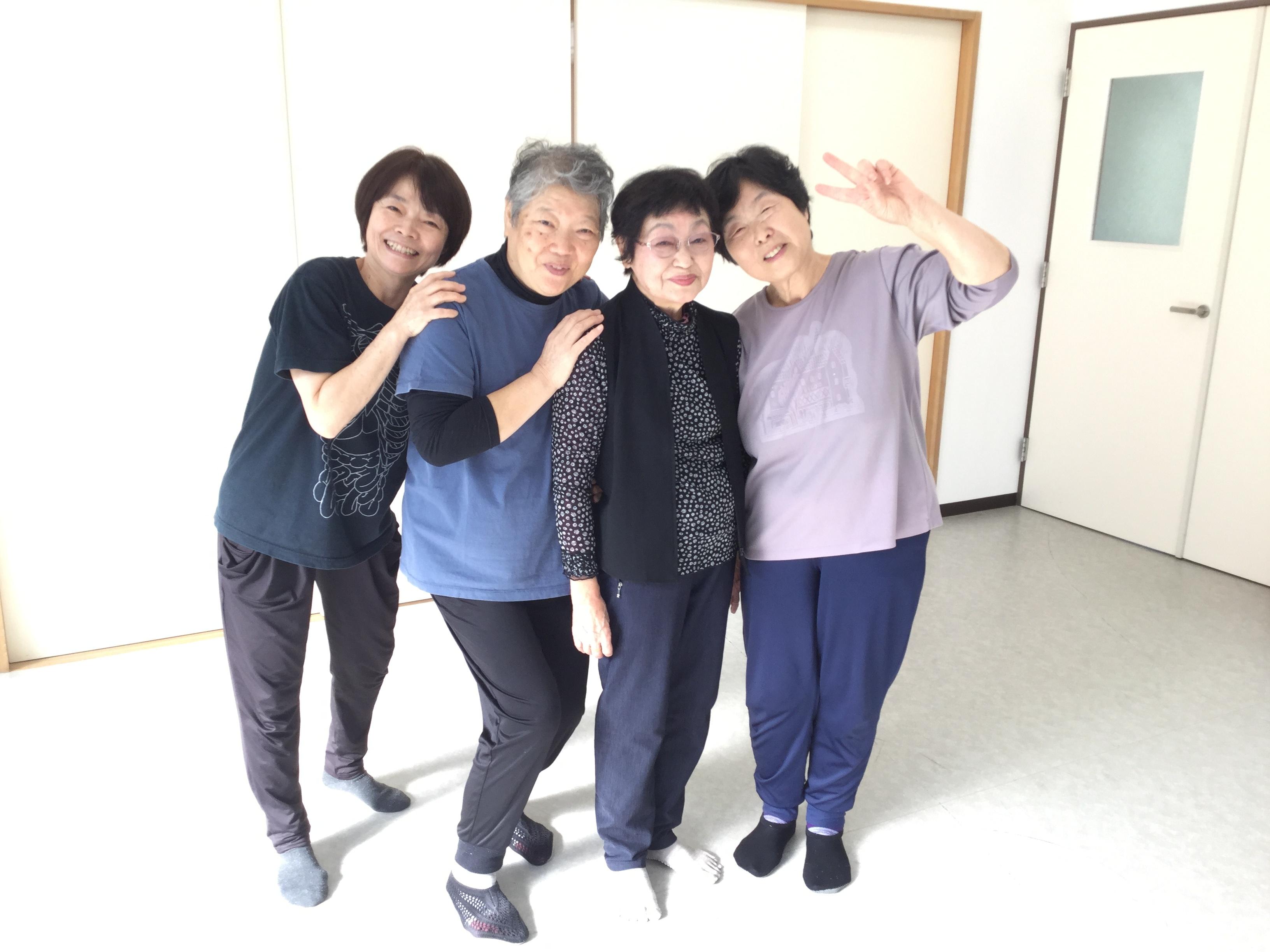 2019年体操教室1時間目