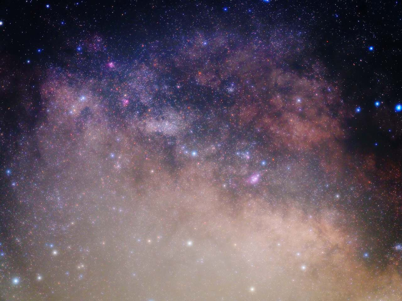 天の川中心部 2020年3月 E-M5II