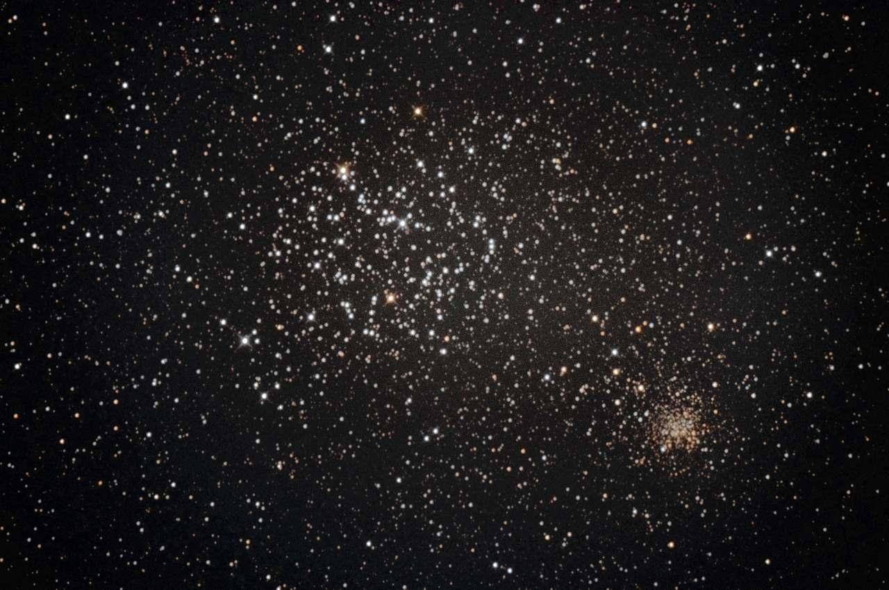 M35 ふたご座散開星団リベンジが… 2020年3月