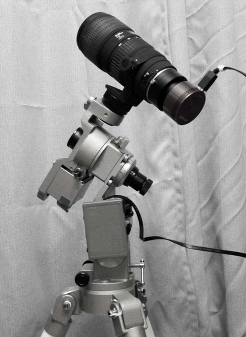 スカイシーム社のテラヘルツフィルターを装備したシステム