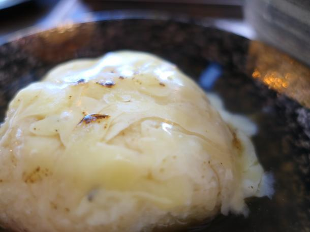 チーズあんかけ焼きおにぎり