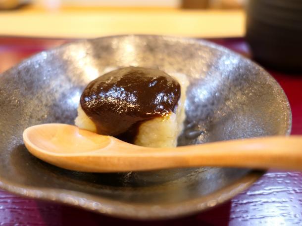 大根と青海苔の豆腐