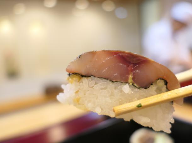 活あじ棒寿司