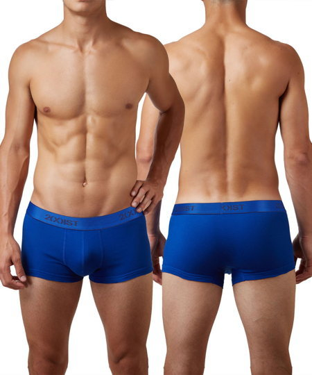 2(X)IST Cotton No-Show Trunks トランクス