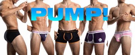 おしゃれでかっこいい男性下着のPUMP! パンプ