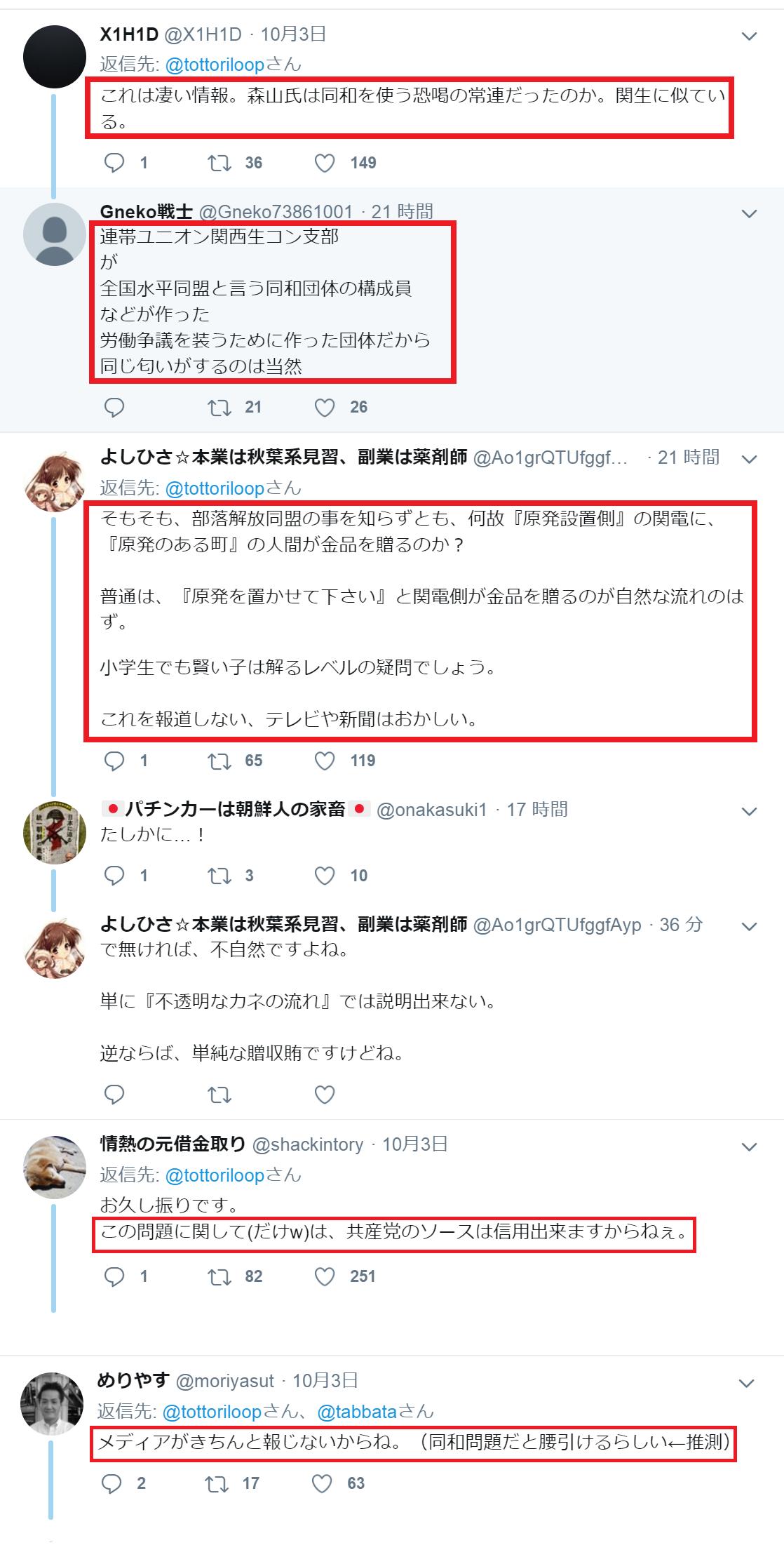 旧社会党堂森議員と高浜原発の関係5