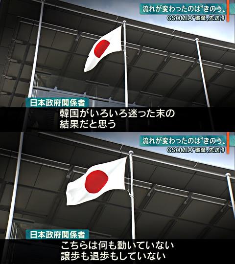 GSOMIA延長で日本政府は何も動いていない