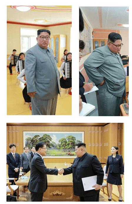 金正恩の体重は170kg1