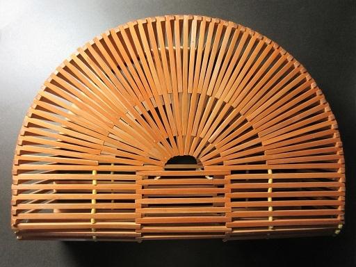 竹製バッグ