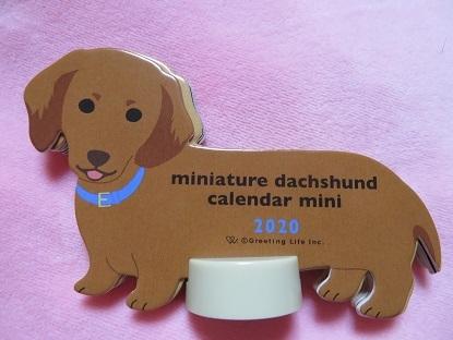 小さなダックスカレンダー