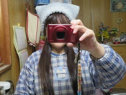 猫耳帽子買いました♪