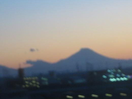 ちょっとピンボケ浅間山