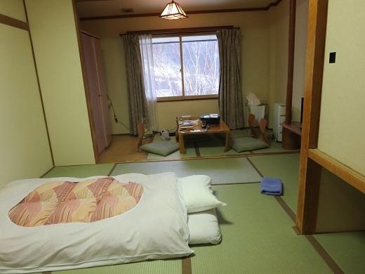 部屋はこんな感じ