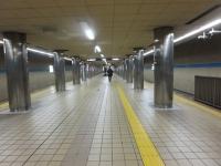 丸の内駅はガラガラ