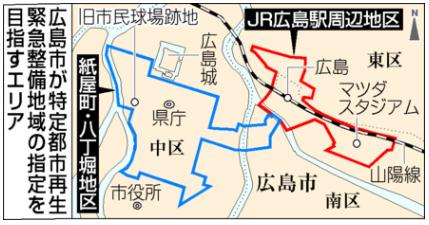 広島市特定整備地区