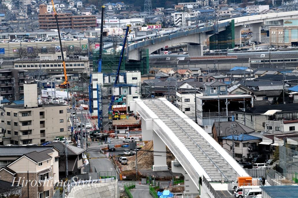 広島高速5号工事