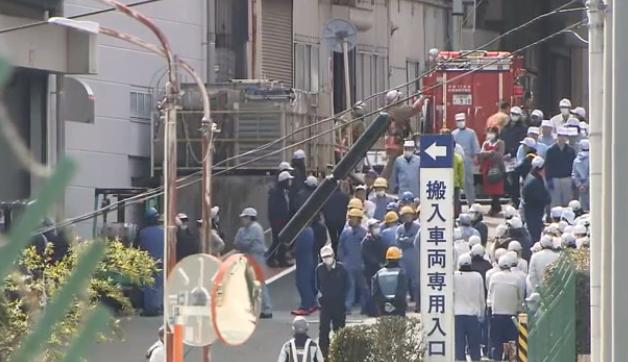 ダイキョーニシカワ八本松工場 火災避難
