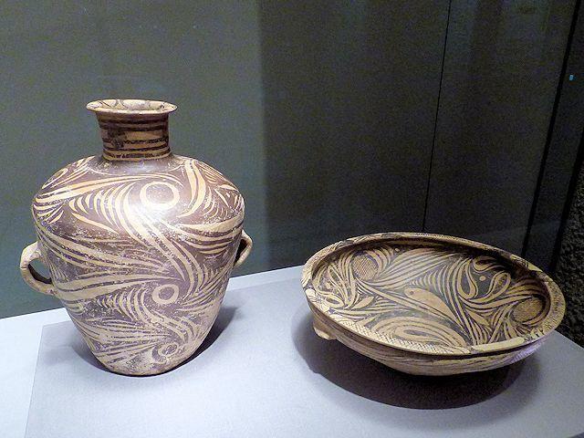 中国の「彩陶」と呼ばれる土器