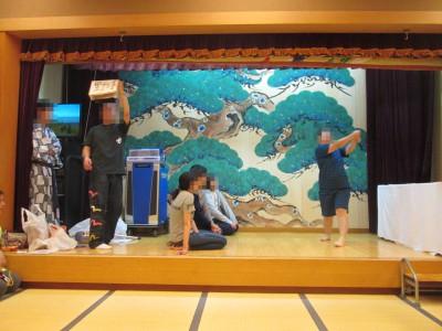ブログ2019旅行宴会ジェスチャー済