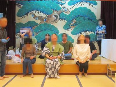 ブログ2019旅行宴会フェイスビスケット済