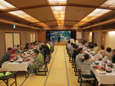 ブログ2019旅行宴会場済