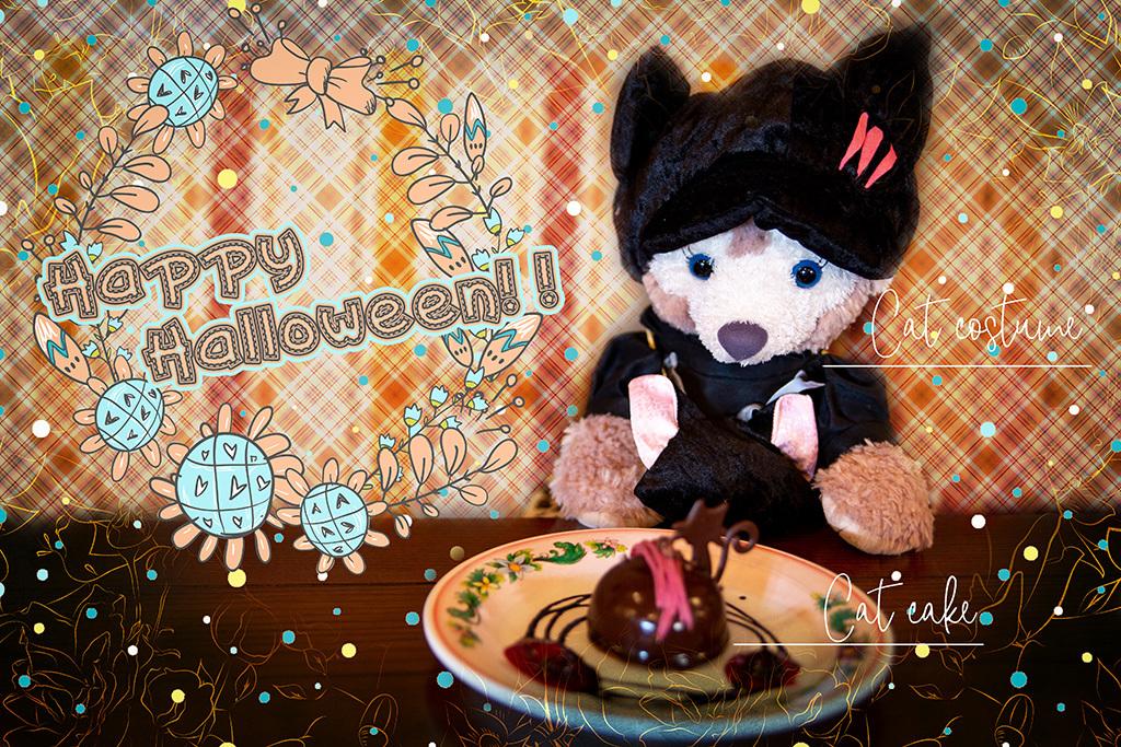 猫の服とケーキとHappy Halloween!!1