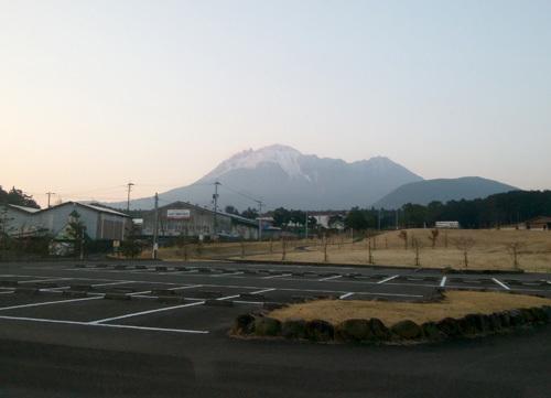 9日の普賢岳